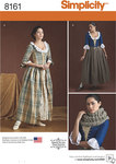 Simplicity 8161. 1800-tals kjoler.