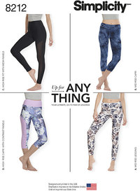 Leggings. Simplicity 8212.