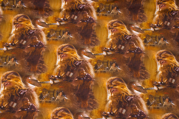 Star Wars bomuldsjersey med Chewbacca