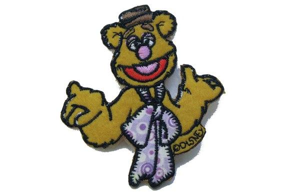 Fozzie bear strygemærke 7x7cm.