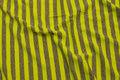 Neonstribet gul og grå viscosejersey