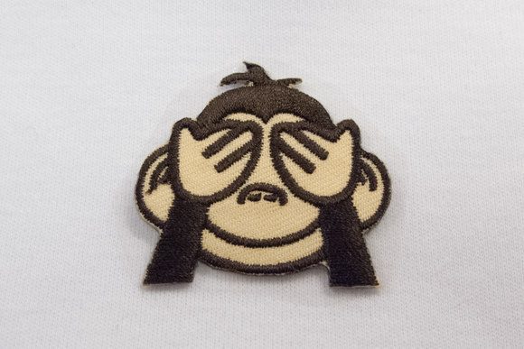 Abe emoji - holder for øjnene 3x4cm