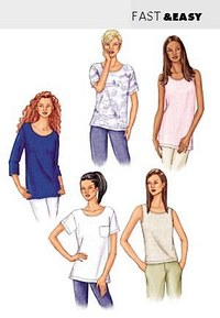 Top. Butterick 3383.