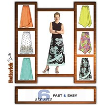 Skirt. Butterick 4803.