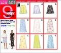 Butterick 5431. Lined Skirt W/elasticized Waist.