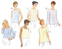 Top. Butterick 5948.