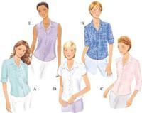 Shirt. Butterick 6085.