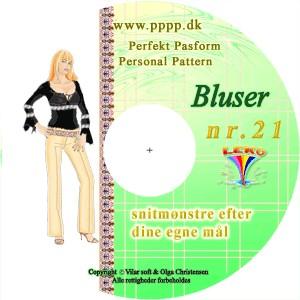 CD-rom nr. 21 - Bluser, toppe