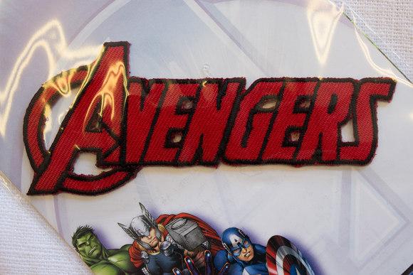 Avengers strygemærke, 9x2cm