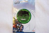 Hulk ansigt strygemærke, Ø5,5cm