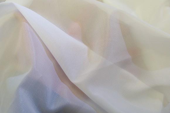 Hvid jersey foer