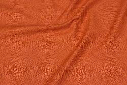 Rustfarvet, fast bomuld med lysere mikroprik