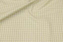 Soft bomuld i ca. 12 mm lysegrønne tern