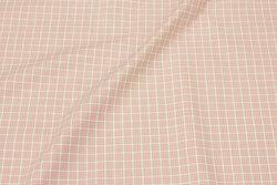 Soft bomuld i ca. 12 mm rosa tern
