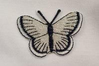 Sommerfugl, 3x5cm